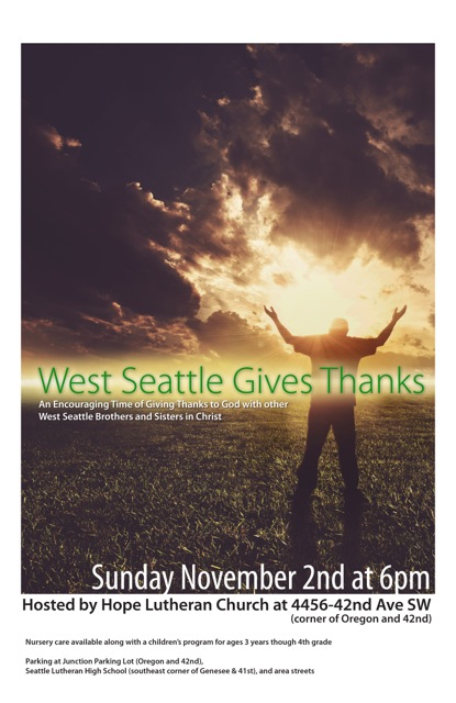 West Seattle Pastoral Collective